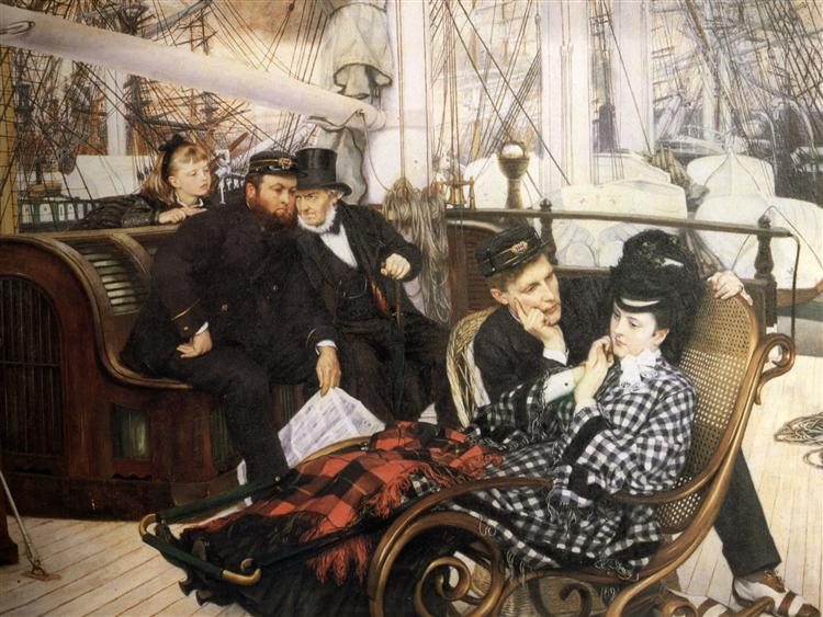 The Last Evening, 1873 - James Tissot