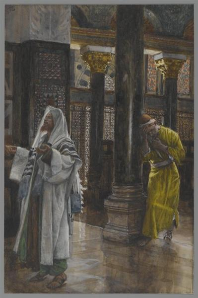 The Pharisee and the Publican, 1886 - 1894 - James Tissot