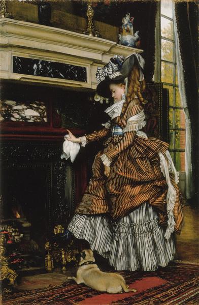 The way, c.1869 - Джеймс Тіссо