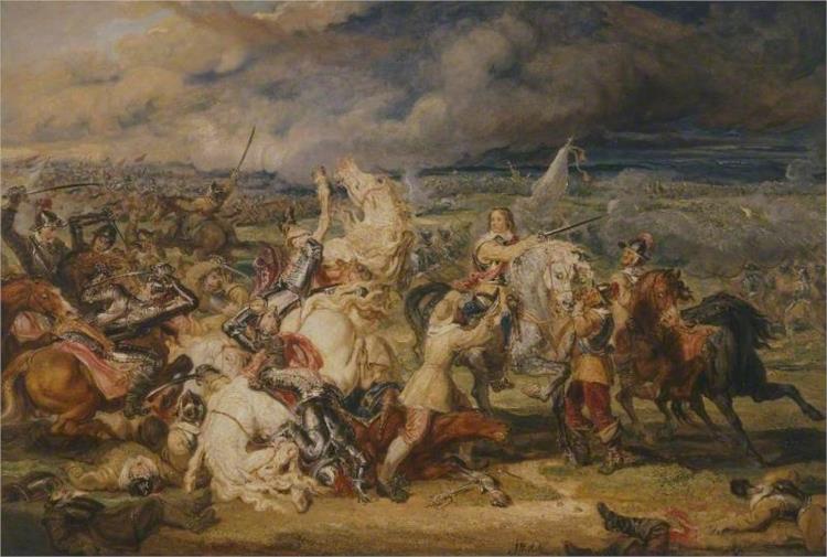 The Battle of Marston Moor, 1644, 1829 - James Ward