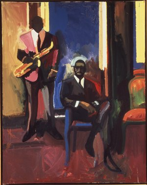 Two Musicians, 1960 - Джеймс Уикс