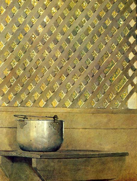 Lattice Work, 1967 - Jamie Wyeth