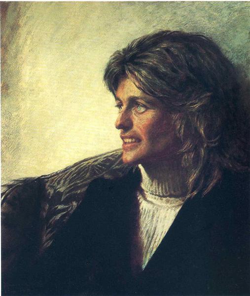 Portrait of Jean Kennedy Smith, 1972 - Jamie Wyeth