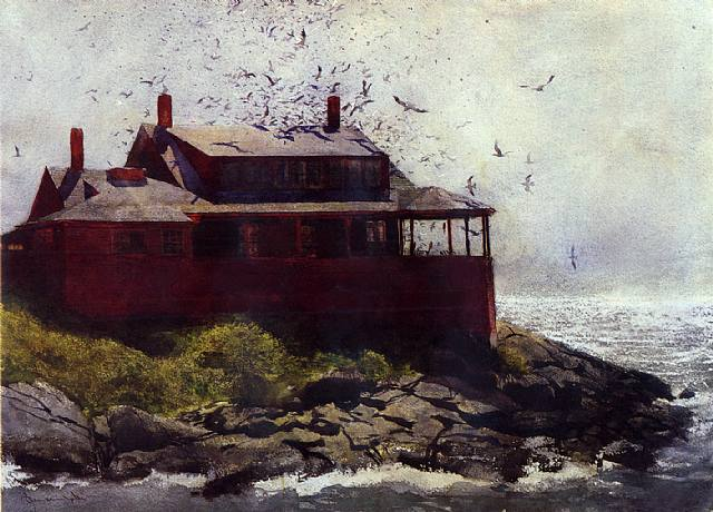 The Red House, 1972 - Jamie Wyeth