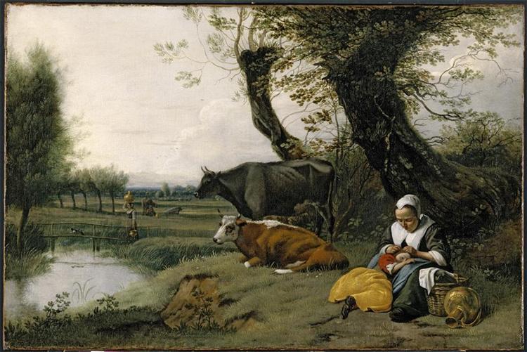 Pastoral Scene, c.1665 - c.1670 - Jan Siberechts