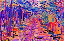 Forest trail - Jan Sluyters