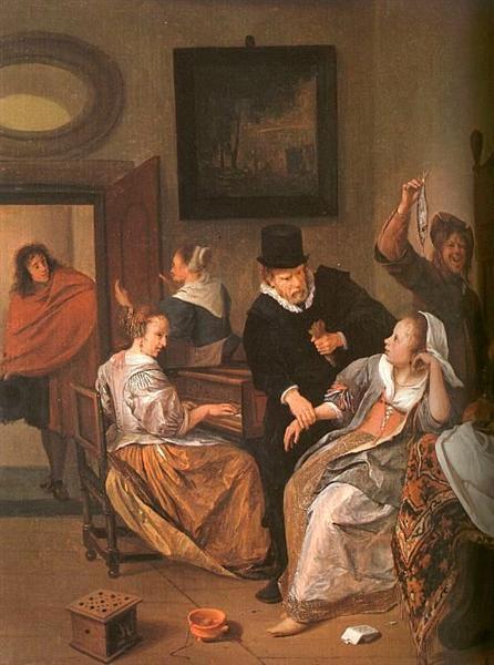 Doctor's Visit, 1663 - 1665 - Jan Steen