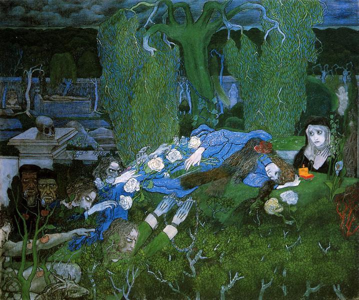 The vagabonds, 1891 - Jan Toorop
