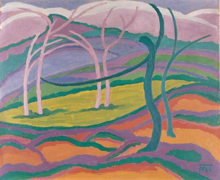Early Spring, 1917 - Янош Маттіс-Теуч