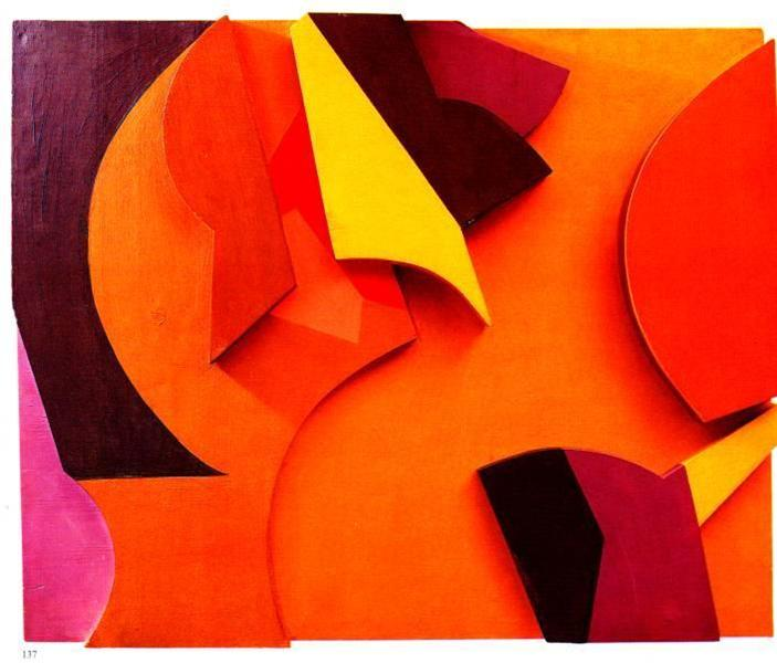 Abstract Composition, 1915 - Jean Arp