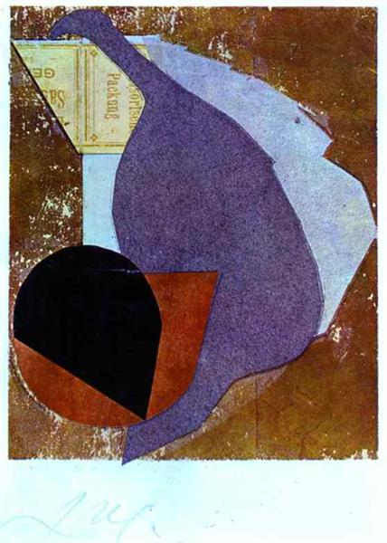 Before my Birth, 1914 - Jean Arp