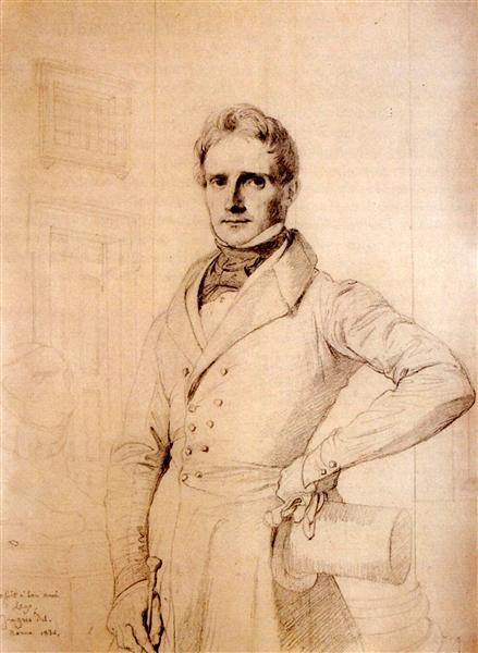 Alexis Rene Le Go, 1836 - Jean Auguste Dominique Ingres