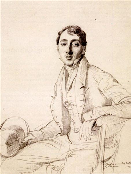 Dr. Louis Martinet - Jean Auguste Dominique Ingres