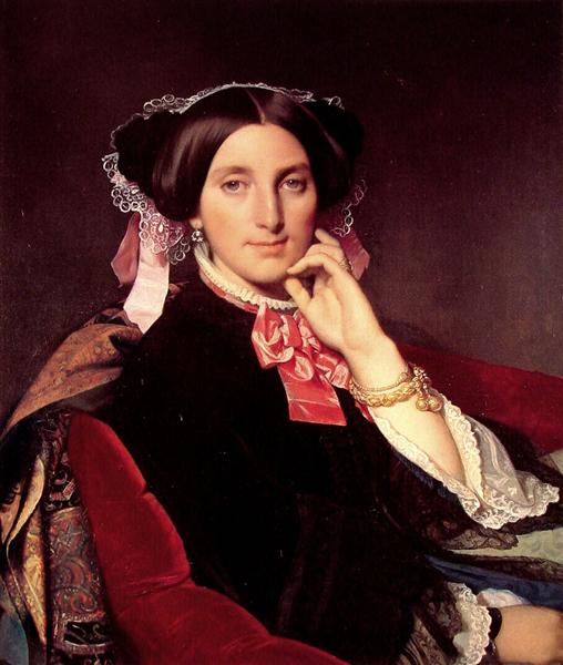 Madame Gonse - Jean Auguste Dominique Ingres