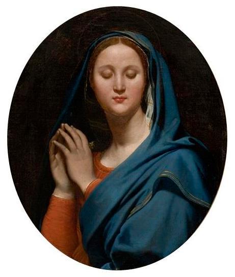 The Virgin of the Blue Veil, 1827 - Jean Auguste Dominique Ingres