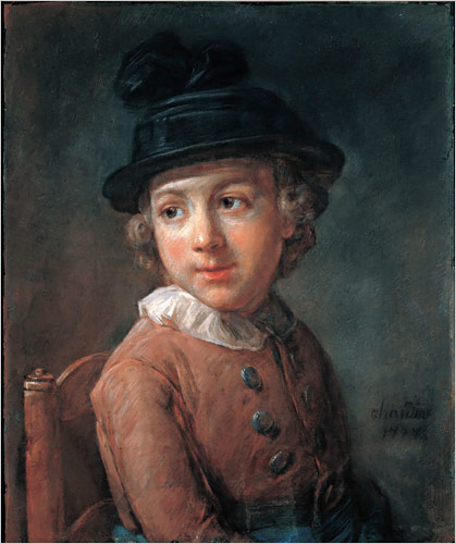 Portrait of a child, 1777 - Jean-Baptiste-Simeon Chardin