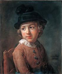 Portrait of a child - Jean-Baptiste-Simeon Chardin