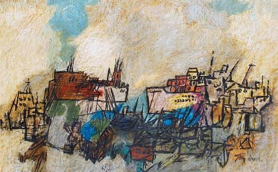 Port Scene - Jean David