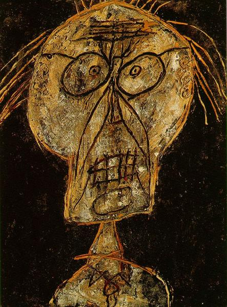 Grand Maitre of the Outsider, 1947 - Jean Dubuffet