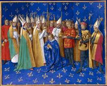 Coronation of Philippe Auguste - Jean Fouquet