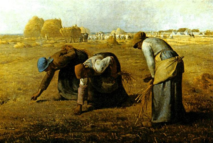 The Gleaners - Millet Jean-Francois