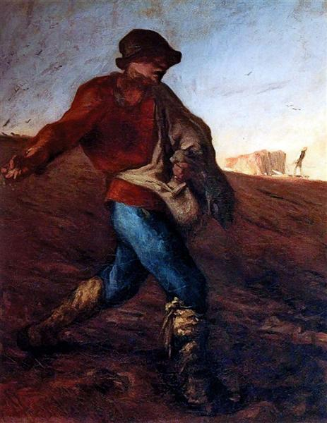 The Sower - Jean-Francois Millet