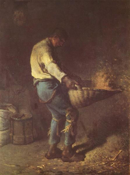 The Winnower, c.1847 - 1848 - Jean-Francois Millet