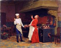 The Marvelous Sauce - Jehan Georges Vibert