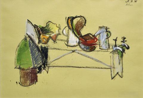 Suite Puciere, 1978 - Jean Helion