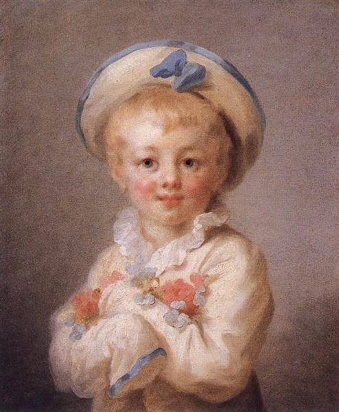 A Boy as Pierrot, c.1780 - Jean-Honore Fragonard