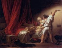 The Bolt - Jean-Honore Fragonard