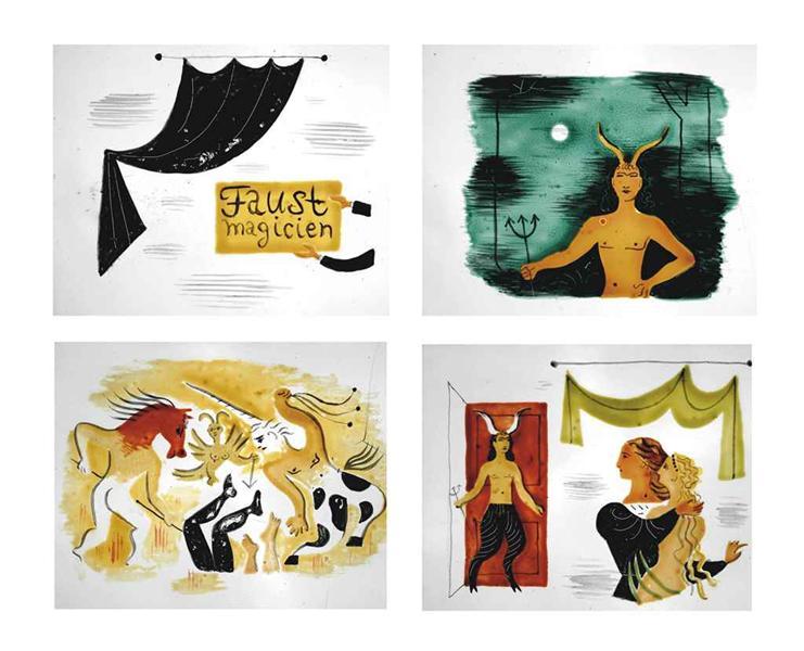 Faust magicien, 1929 - Jean Hugo