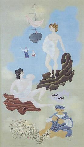 Les plaisirs de la plage, 1928 - Jean Hugo