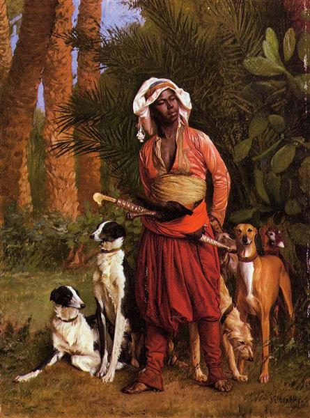 The Negro Master of the Hounds, 1871 - Jean-Leon Gerome