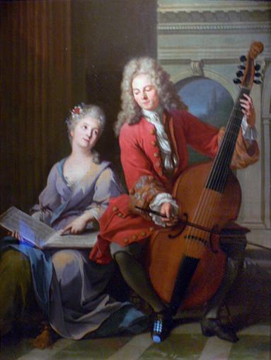 The Music Lesson, 1710 - Jean-Marc Nattier