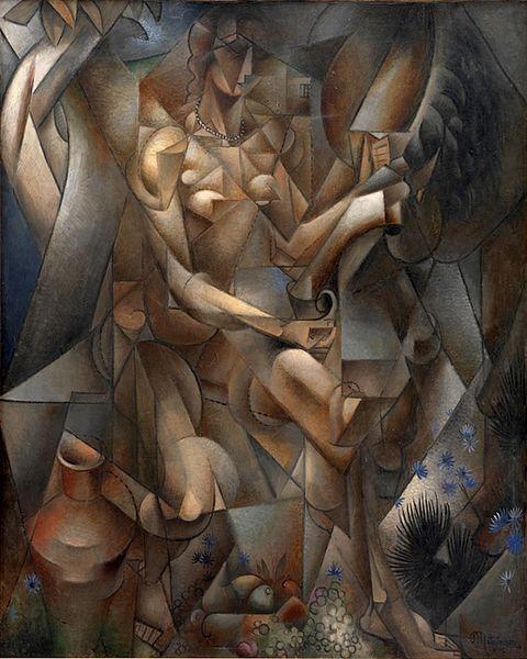 La Femme au Cheval, 1911 - 1912 - Jean Metzinger