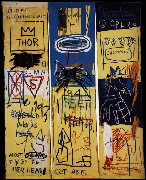 Charles the First - Basquiat Jean-Michel