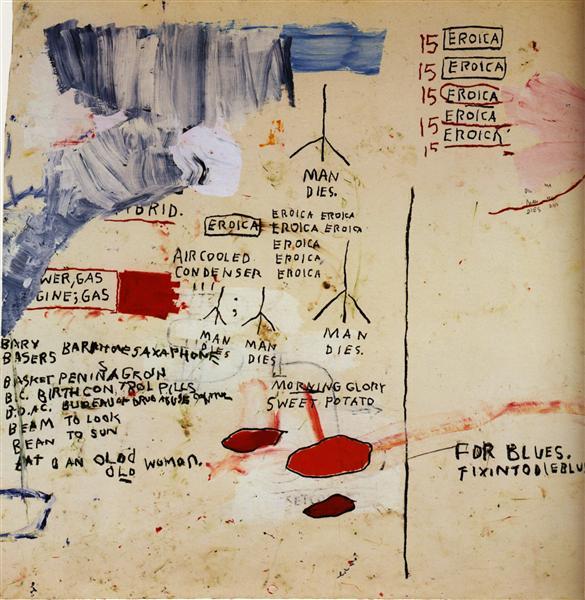 Eroica I, 1988 - Jean-Michel Basquiat