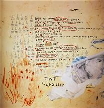 Eroica II - Jean-Michel Basquiat