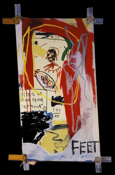 Maid from Olympia, 1982 - Jean-Michel Basquiat