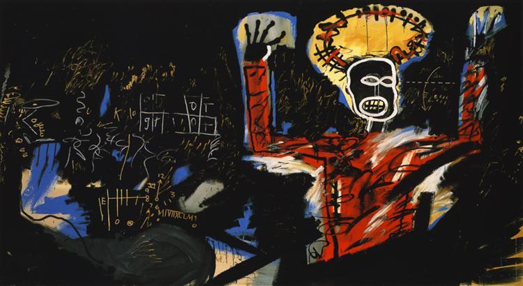 Profit I, 1982 - Jean-Michel Basquiat
