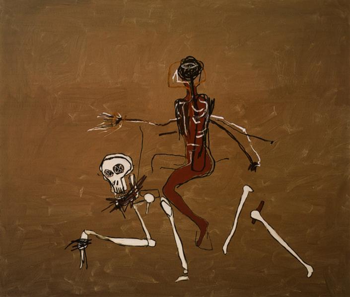 Верхом на смерти, 1988 - Жан-Мишель Баския
