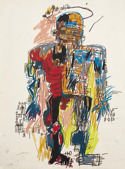 Self-Portrait, 1982 - Jean-Michel Basquiat