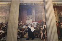 Death of Saint-Geneviève, Panthéon, Paris - Jean-Paul Laurens