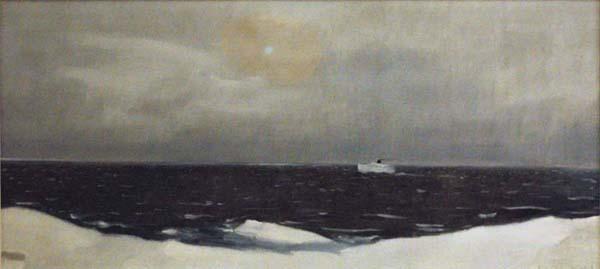 Traverse d\'hiver, 1964 - Jean Paul Lemieux - WikiArt.org