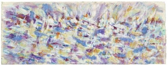 Marée haute à midi, 1967 - Jean Rene Bazaine