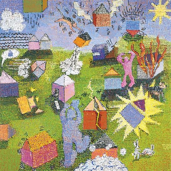Houses In Motion, 1999 - Jennifer Bartlett