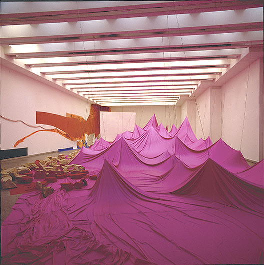Growing Rock Candy Mountain Grasses in Canned Sand, 1992 - Jessica Stockholder