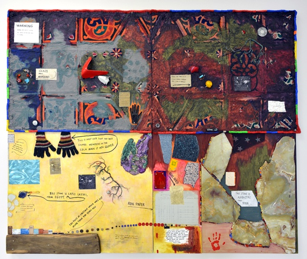 Various Elements from the Actual World, 2009 - Jimmie Durham