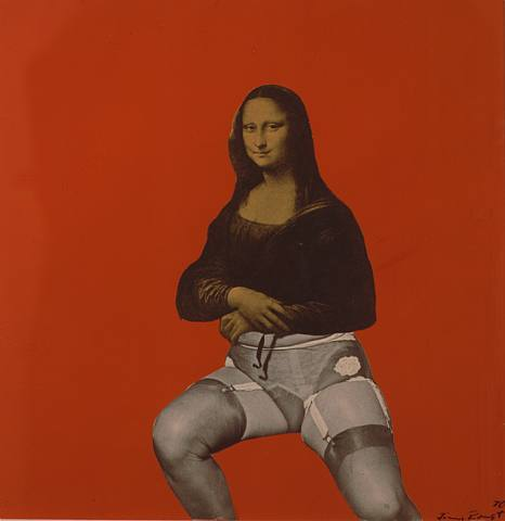 Mona Lisa Red, 1970 - Jimmy Ernst